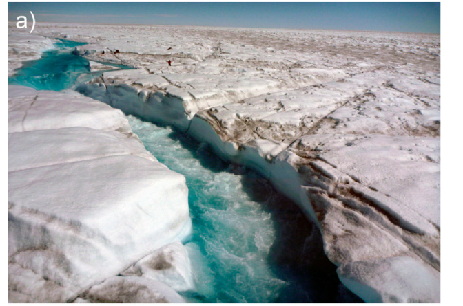 Rivers and streams on the Greenland ice sheet a major contributing factor to global sea level rise