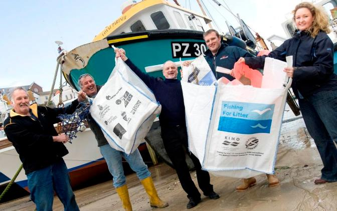 UK Fishermen set to work cleaning up the oceans